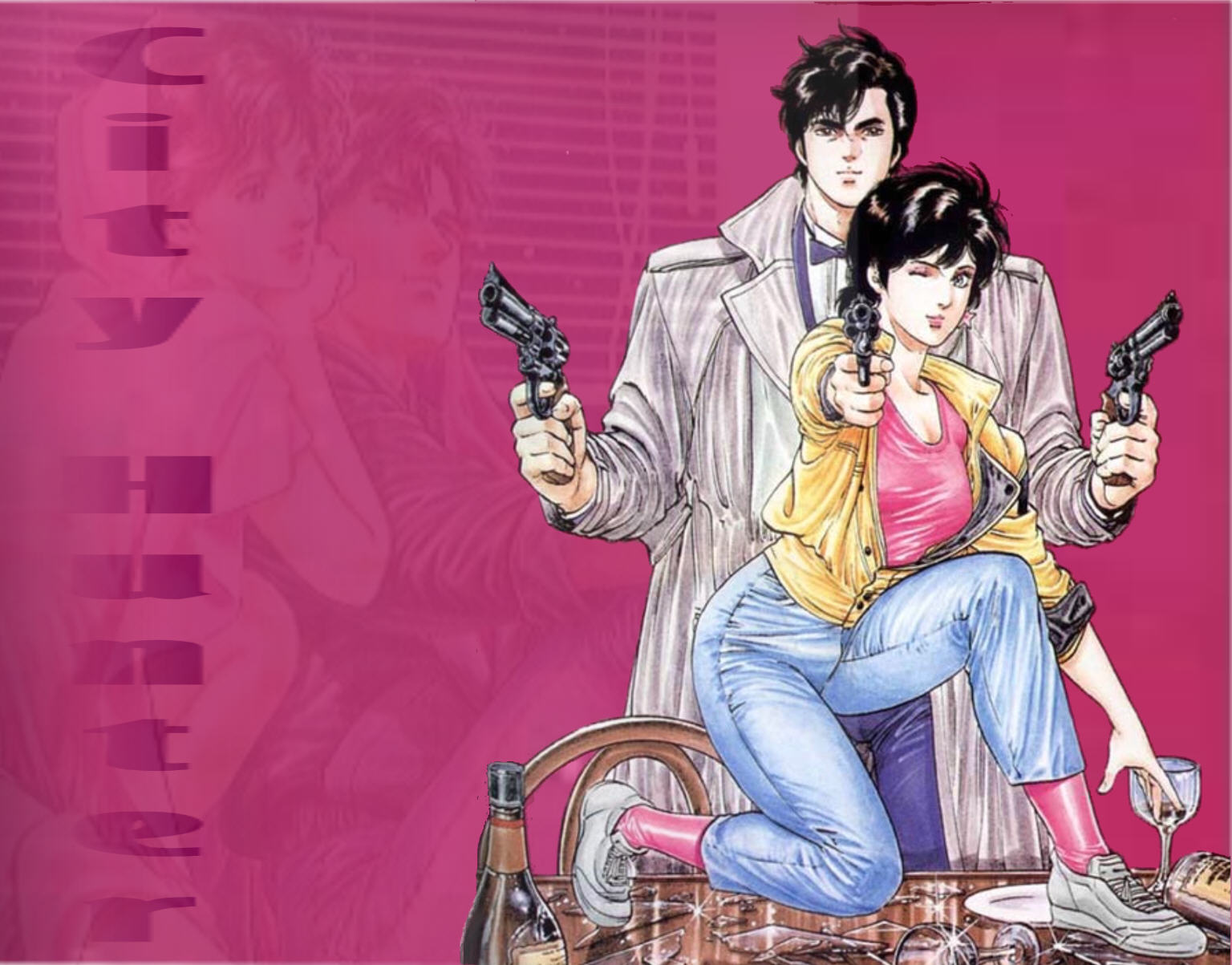 City hunter cartoonsexy wallpaper porn pic